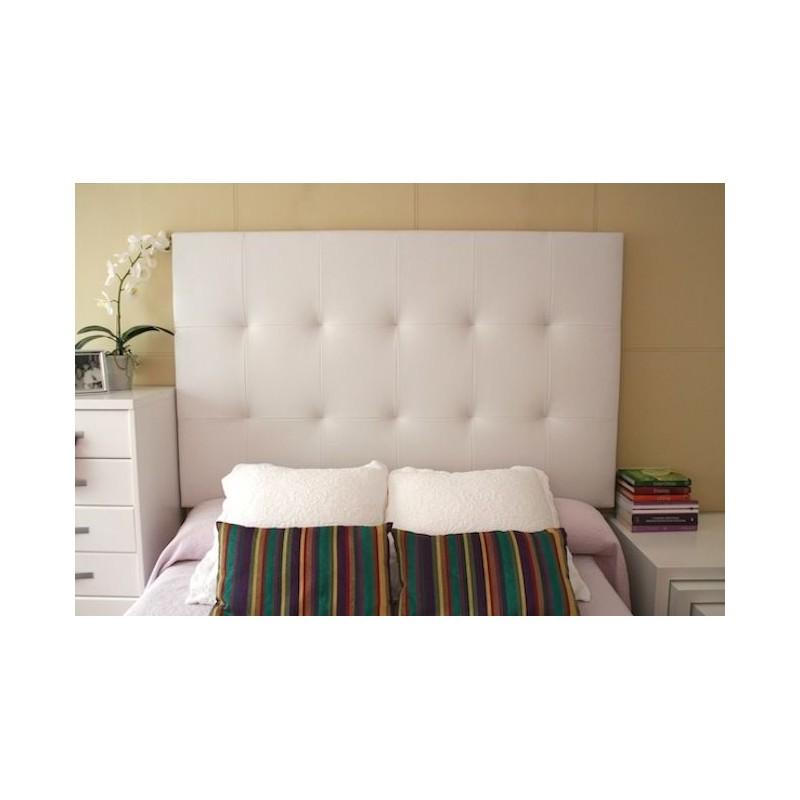 Cabecero de cama tapizado tapizado modelo 130 for Cabeceros de cama manuales