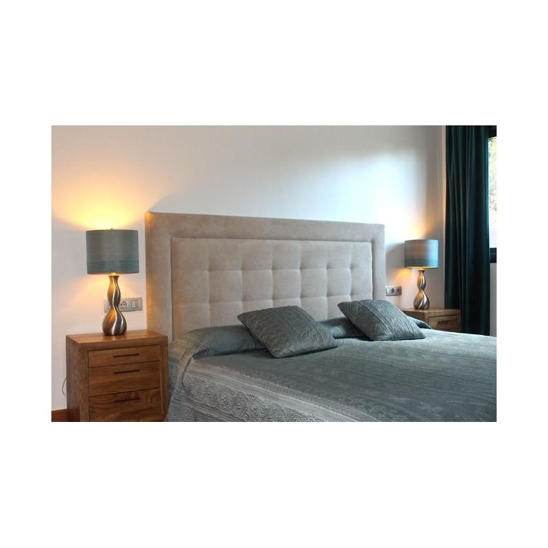 Cabecero de cama tapizado tapizado modelo 101 - Cabeceros de cama acolchados ...