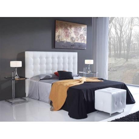 Cabecero de cama acolchado cabecero de cama acolchado cabecero de cama tapizado ecopiel con - Cabecero cama acolchado ...