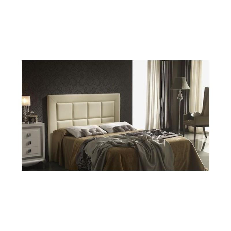 Cabecero de cama tapizado tapizado modelo 110 - Cabeceros de cama manuales ...