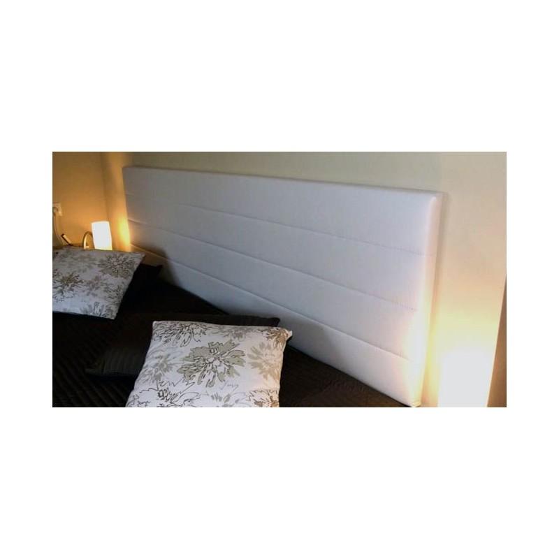 Cabecero de cama tapizado tapizado modelo 121 for Cabeceros de cama manuales