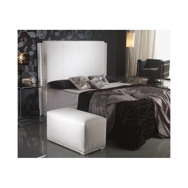 Cabecero de cama tapizado tapizado modelo 112 - Cabeceros de cama manuales ...