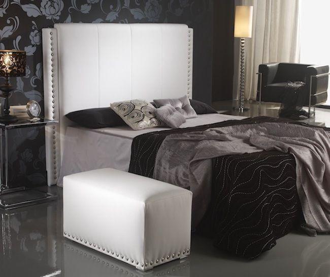 Cabezal de cama tapizado cabecero de cama tapizado muy mullido cabecero de cama tapizado muy - Tapizar cabezal cama ...