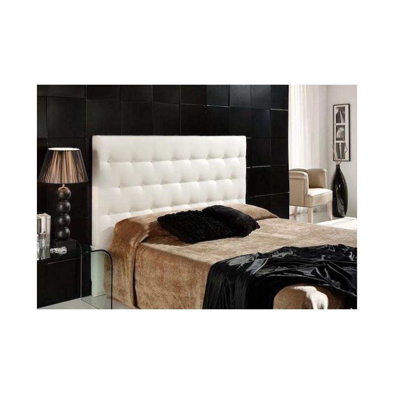 Cabecero de cama tapizado tapizado modelo 115 - Cabeceros de cama manuales ...