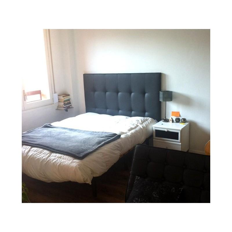 cabecero de cama tapizado tapizado modelo 130