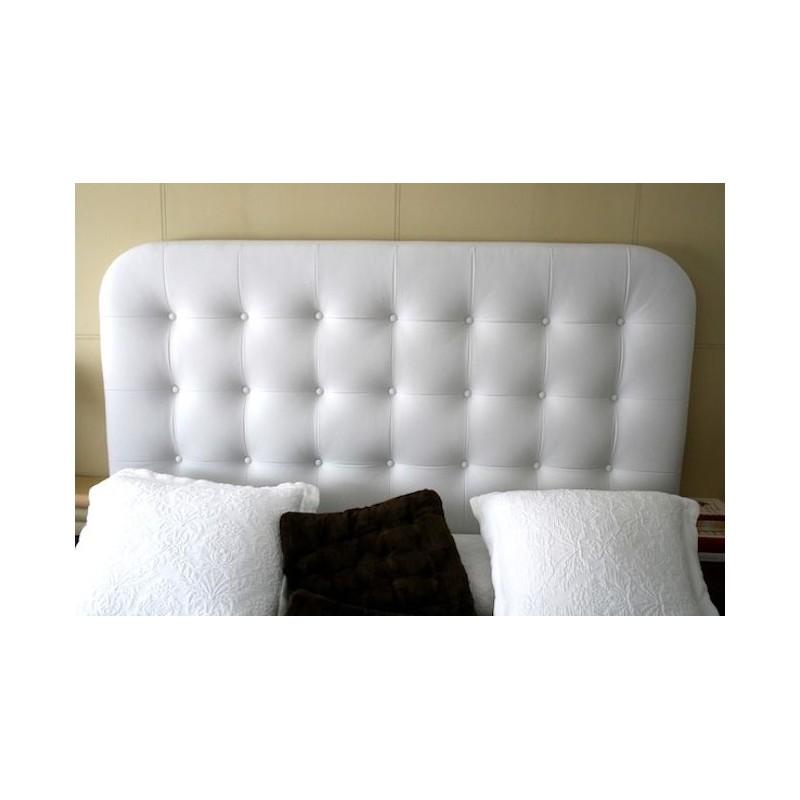 Cabecero de cama tapizado tapizado modelo 127 - Cabeceros de cama tapizados en tela ...