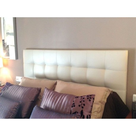 Cabecero de cama tapizado tapizado modelo 124 - Cabeceros de cama tapizados en piel ...