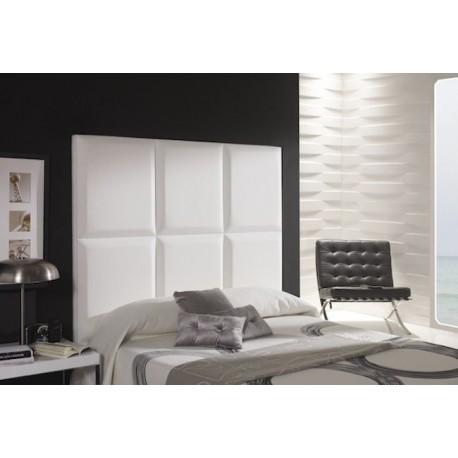 Cabecero de cama tapizado tapizado modelo 135 - Telas para cabeceros de cama ...