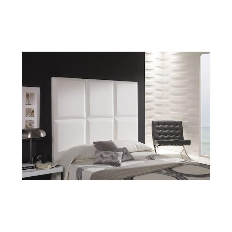 Cabecero de cama tapizado tapizado modelo 135 - Cabeceros de cama manuales ...