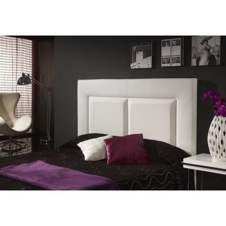 Cabecero de cama tapizado tapizado modelo 136 - Cabeceros de cama tapizados de tela ...