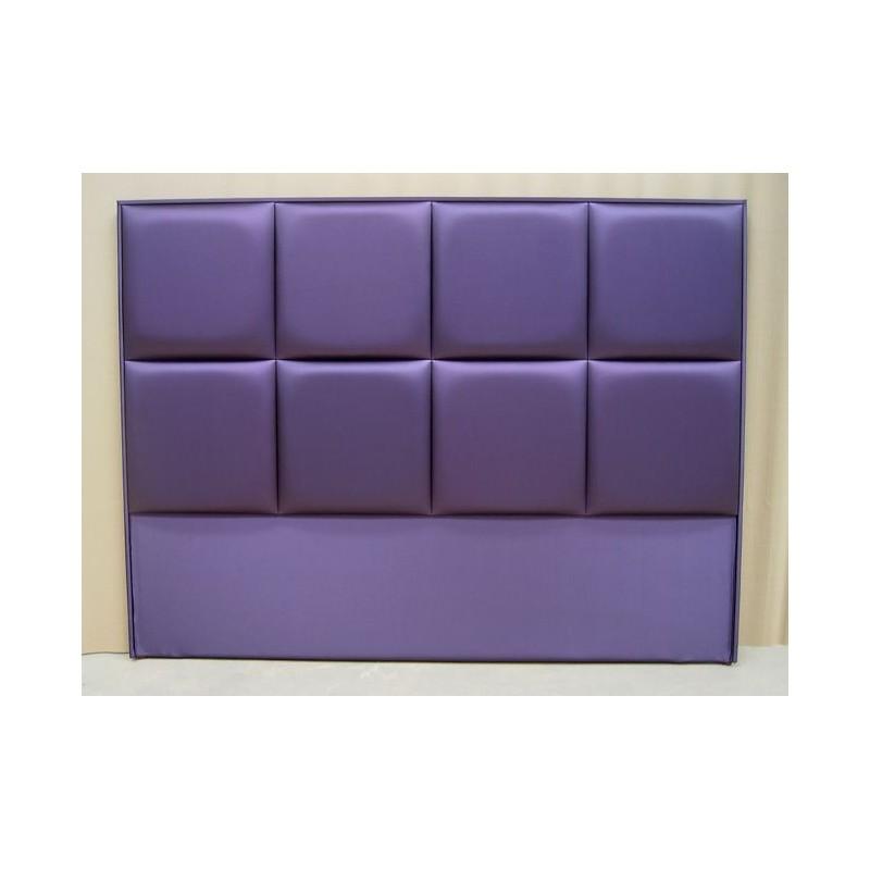 Cabecero de cama tapizado tapizado modelo 100 - Cabeceros de cama tapizados en tela ...