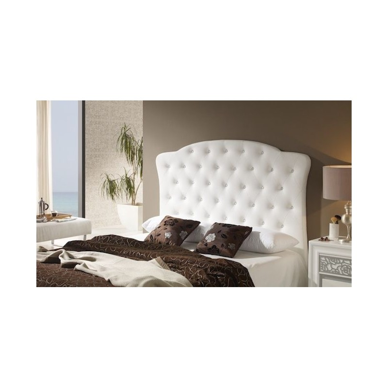 Cabecero de cama tapizado tapizado modelo 137 - Cabeceros de cama tapizados en tela ...