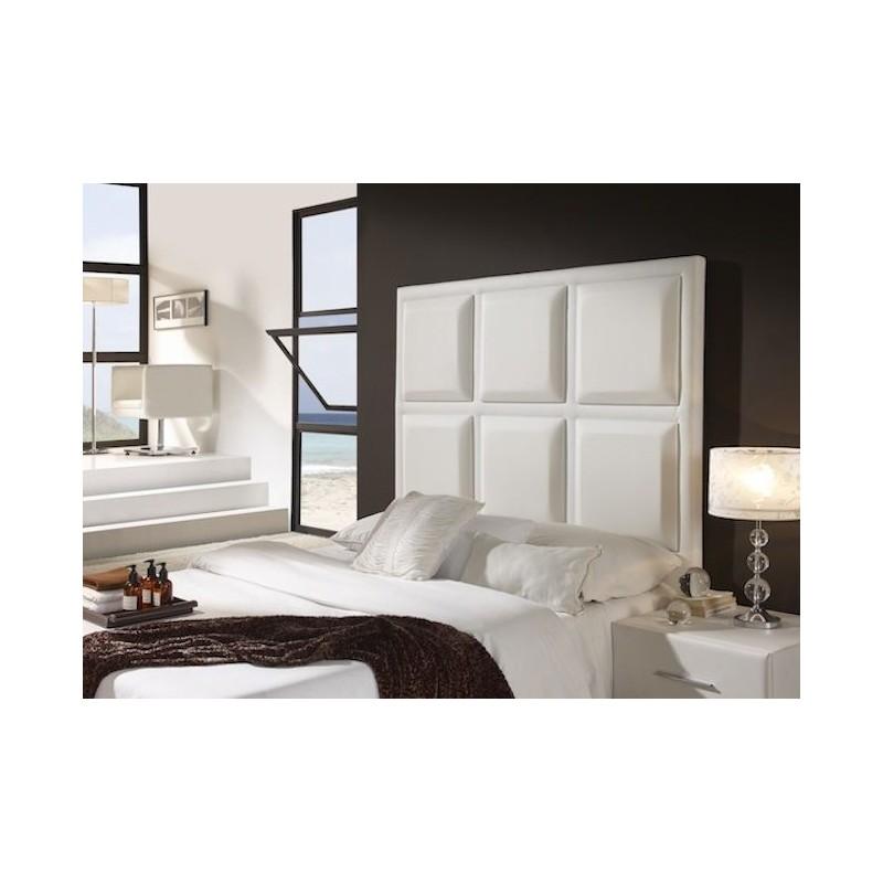 Cabecero de cama tapizado tapizado modelo 139 - Cabeceros de cama tapizados tela ...