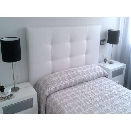 Cabecero de cama tapizado tapizado modelo 149 - Cojines para cabeceros de cama ...