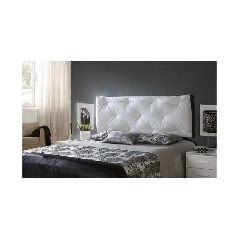 Cabeceros cama tapizados aure cabecero tapizado with for Cabeceros juveniles ikea