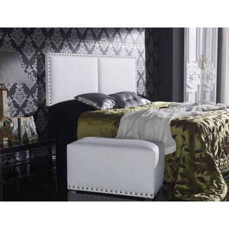 Cabecero de cama tapizado tapizado modelo 113 - Cabeceros cama tela ...