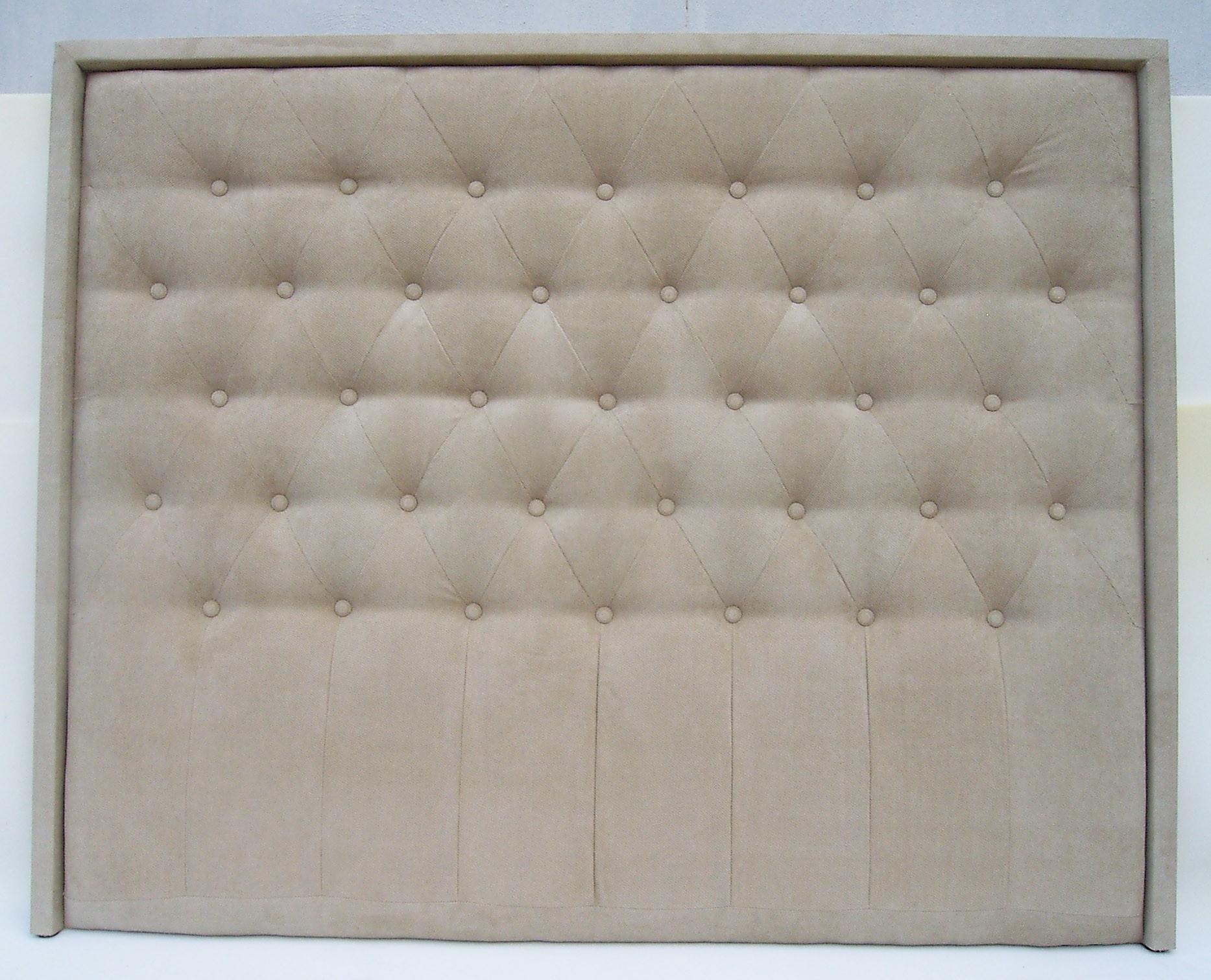 Cabeceros cama tapizados tela cabeceros tapizados de moda - Cabeceros de cama de tela ...