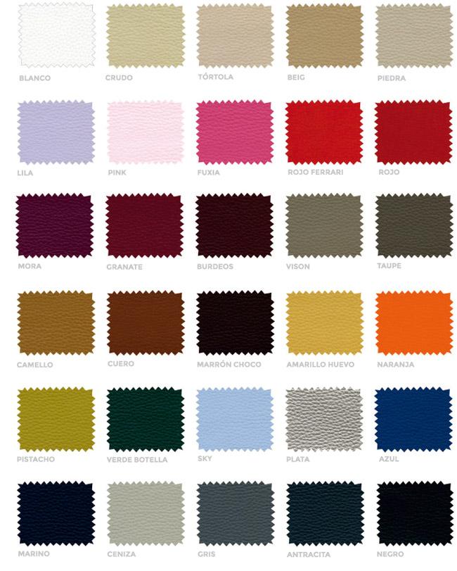 Colores polipiel