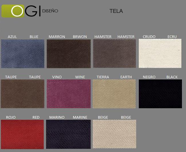 Cabecero de cama tapizado tapizado modelo 105 - Telas para forrar cabecero cama ...